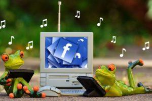 símbolos de música para facebook