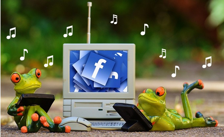símbolos de música para facebook no pc