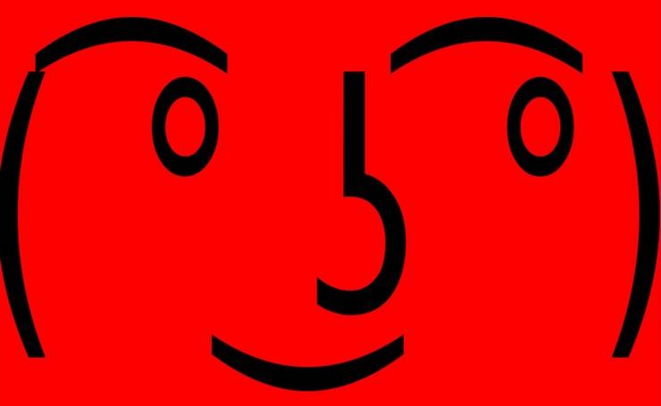 aquela carinha ( ͡° ͜ʖ ͡°) emoticon e emoji