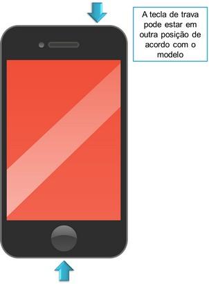 captura da tela do celular passo 4