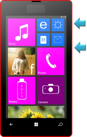 print tela windows phone passo 5