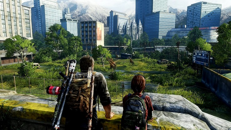 imagem do the last of us sendo jogado no pc
