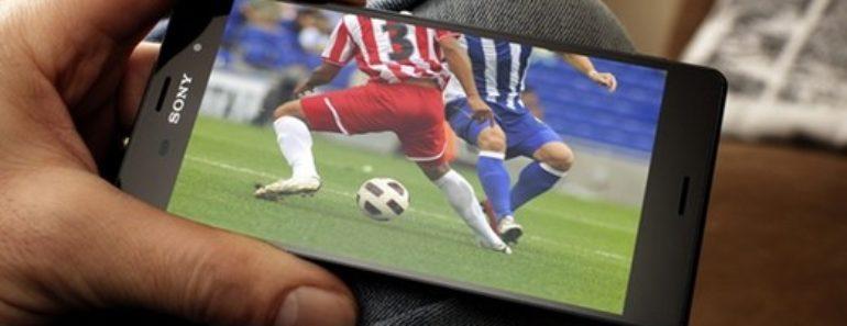 futebol no celular android
